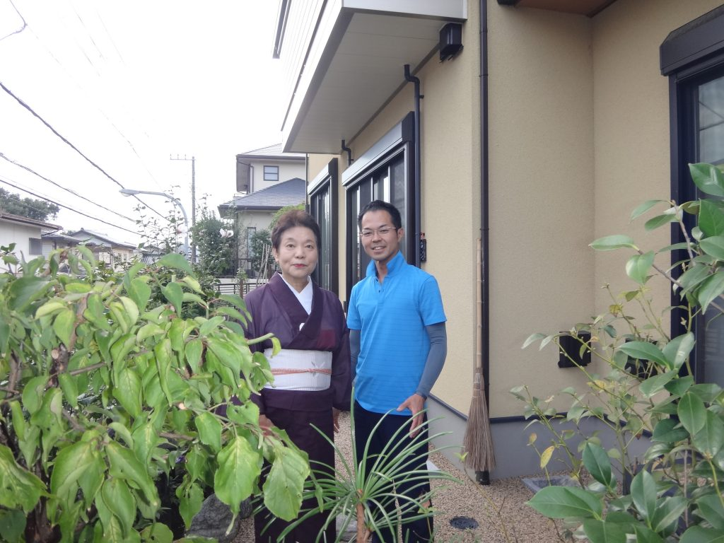 横浜市金沢区 剪定後の土壌改良で樹木復活っ!!