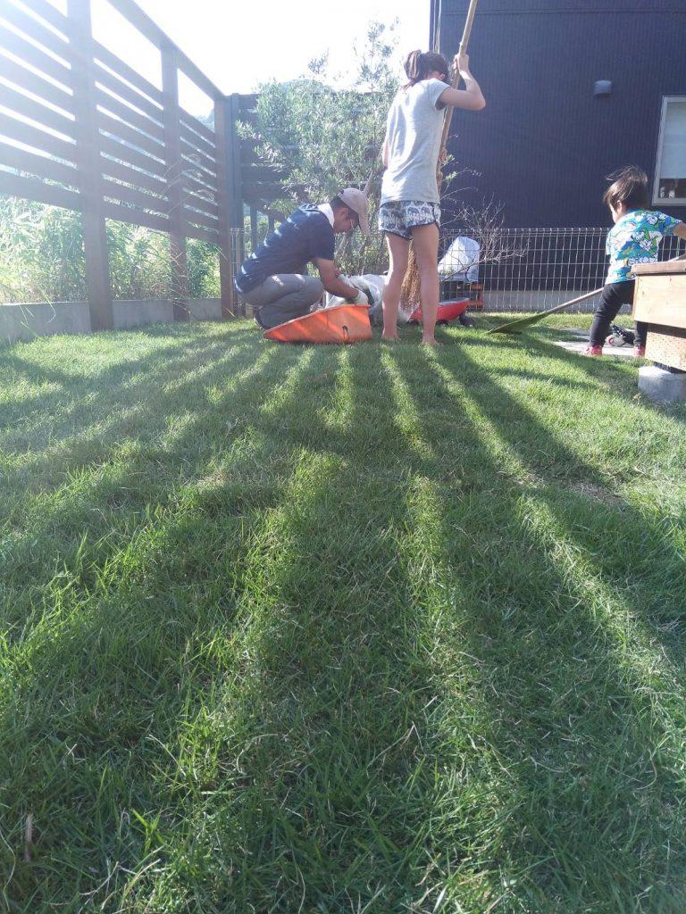 2017年5月作庭した屋外空間 -新緑がキレイです!-
