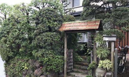 亡き父が設計・管理した庭を潮彩庭縁に任せたい