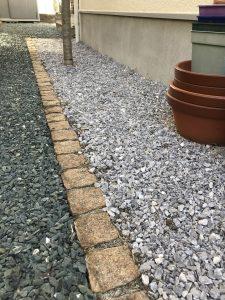横浜市 泉区 庭を天然芝から砂利へ模様替え