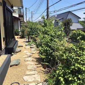横浜市金沢区 植木屋の剪定 おもてなしの屋外空間つくり