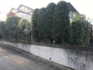 横浜市都筑区 町内のお付き合いから紹介頂く、感謝の庭園管理