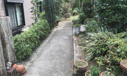 横浜市 都筑区 お庭の手入れ(剪定・草刈)