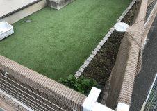 鎌倉市 天然芝から人工芝へ庭リフォーム ~ライフスタイルの変化~