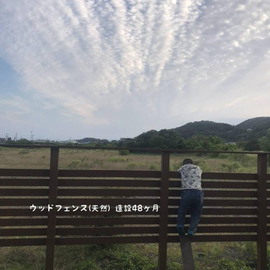 神奈川県大磯町 潮彩庭縁ホームページの顔「ウッドフェンス」健在です!