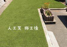 横浜市泉区 芝生の草取りが加齢で大変に。人工芝にして下さい。